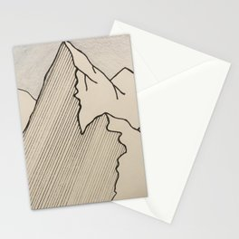 Colorado mountain range Stationery Cards