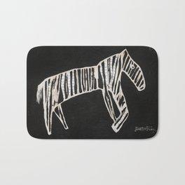 Zebra Collage Bath Mat