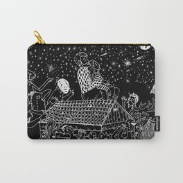 Not now, Creepy Creatures! Carry-All Pouch