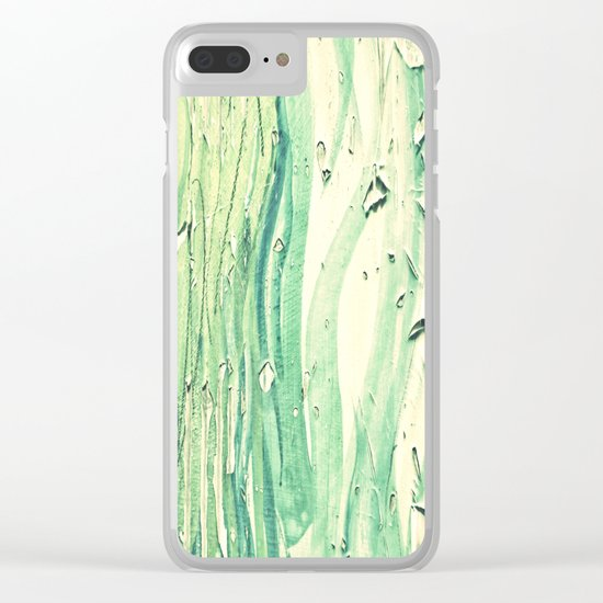 Old Wood 02 Clear iPhone Case