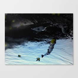 Said to have shape-shifting powers and is often in the form of either a car or an animal. Canvas Print