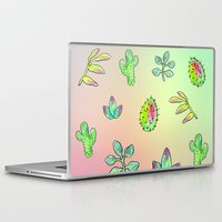 cacti Laptop & iPad Skins featuring Cacti  by Brettisagirl
