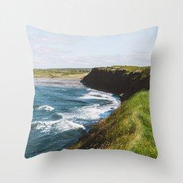 Ireland Coast Throw Pillow