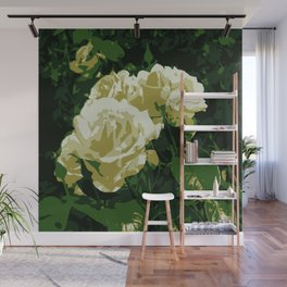 Abstract Floral Photography Wall Mural