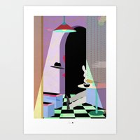 gangster Art Prints featuring gangster life by Alba Blázquez
