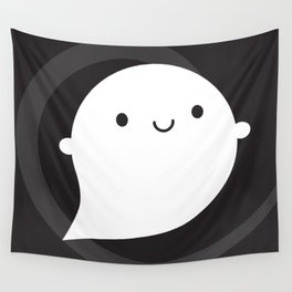 Spooky Wooky Ghost Wall Tapestry