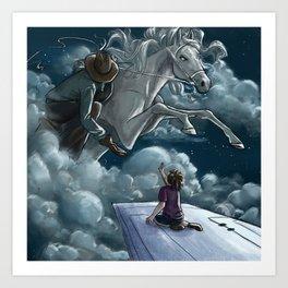 Airplane Dream Art Print