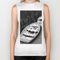 boats Biker Tanks featuring Boats by Vishal Wadhwani