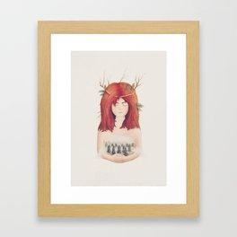 Eihwaz Framed Art Print