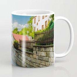 A street in Turnov Coffee Mug
