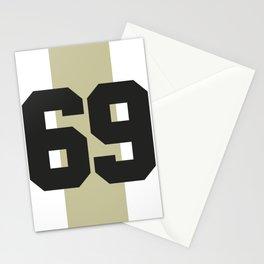 69 race Stationery Cards
