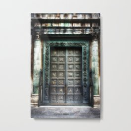 Doors of the Baptistry, Florence, Italy Metal Print