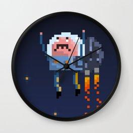 Astro Mustache Wall Clock