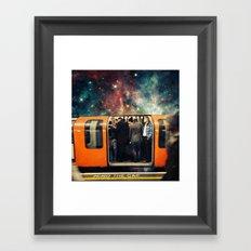 Mind The Galaxy | London Tube Series Framed Art Print