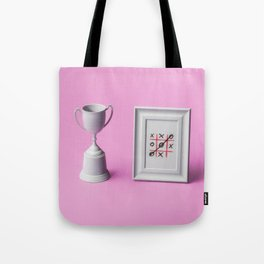 Champion of noughts and crosses Tote Bag
