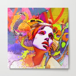 belladonna 2 Metal Print