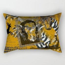 Safari sketch Rectangular Pillow