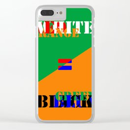FAKE NEWS 03 Clear iPhone Case