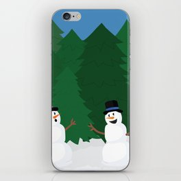 Snowball Fight iPhone Skin