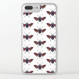 Beetle #4 Color Clear iPhone Case
