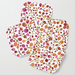 Tangle of Leaves - Autumn Berries Coaster