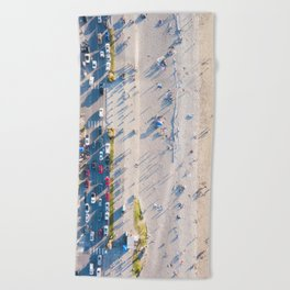 Alki Beach Beach Towel