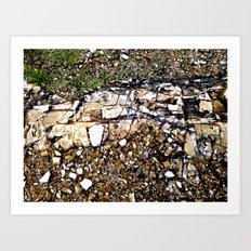 HeadlandRock6 Art Print