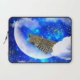 Relax in The moon Laptop Sleeve