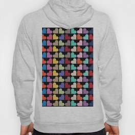 Colorful Love Pattern VII Hoody