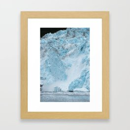 Icy Thunder Framed Art Print