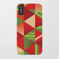 strawberry iPhone & iPod Cases featuring strawberry by Gray