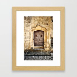 Histoire de portes II Framed Art Print