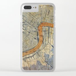 06-New Orleans Louisiana 1932 Clear iPhone Case