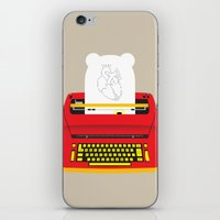 typewriter iPhone & iPod Skins featuring Typewriter by EinarOux
