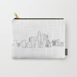 Los Angeles Skyline Drawing Carry-All Pouch