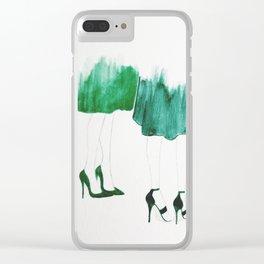 Emerald City Clear iPhone Case