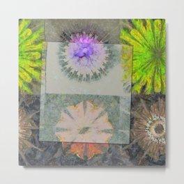 Enhalo Head Trip Flower  ID:16165-013931-49391 Metal Print