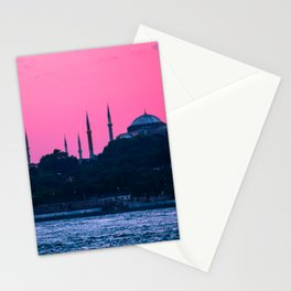Istanbul Sultanahmed and Ayasofya Mosques Stationery Cards