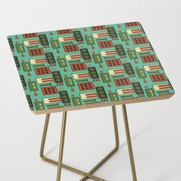 Retro Geodesic Side Table