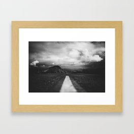 Nelson Ghost Town Framed Art Print