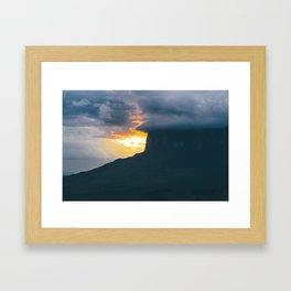Roraima Sunset Framed Art Print