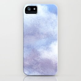 Clouds Watercolor  iPhone Case