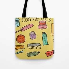 Cosmetics Tote Bag