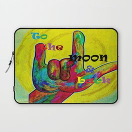 To the Moon and Back Laptop Sleeve