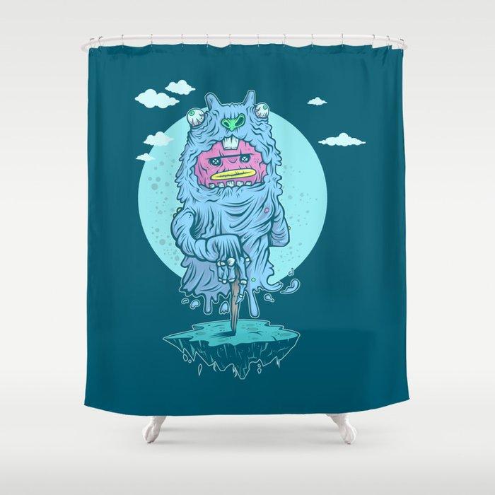 Gopher Guts Shower Curtain
