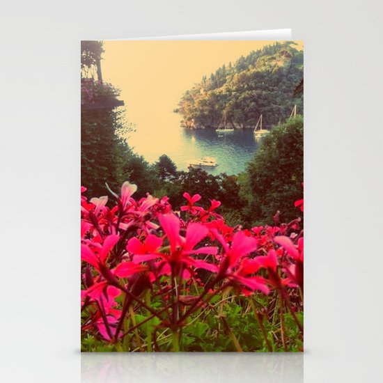 A little piece of paradise Stationery Cards