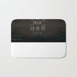 Let God Be True Bath Mat