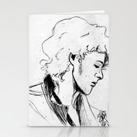 enjolras Stationery Cards featuring Enjolras by Pruoviare