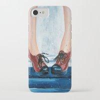 heels iPhone & iPod Cases featuring Heels by MardyArts