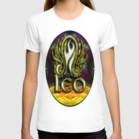 astrology T-shirts featuring Leo Zodiac Sign Astrology by CAP Artwork & Design